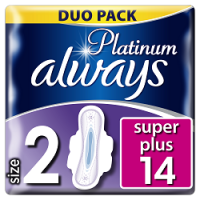 Always vložky Ultra Platinum Super Duo 12ks