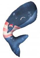 Baby Bites multifunkční polštář Whale