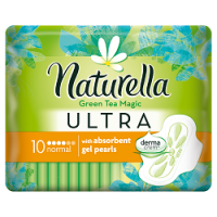 Naturella vložky Ultra Normal 10ks Green Tea