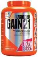Extrifit Hardcore Gain 21 3kg jahoda - Extrifit Hardcore Gain 21 3000 g