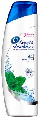 Head & Shoulders šampón 2v1 Menthol 225ml