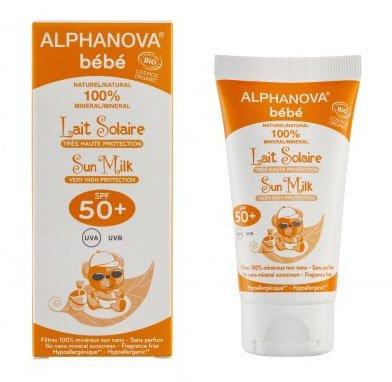 Alphanova Bebe sluneční krém SPF50+ 50 g