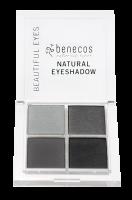 Benecos oční stíny 4 barvy Smokey eyes BIO VEG 8g