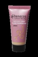 Benecos lehký fluid make-up Sahara BIO VEG 30ml
