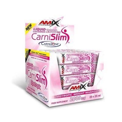 Amix CarniSlim, Fresh Lime, 20x25ml