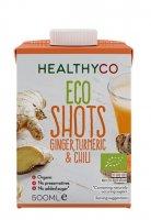 HealthyCO BIO Zázvorový nápoj s kurkumou a chili 500ml