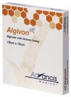 Algivon 10x10cm krytí alginátové antimikrobakteriální 5ks