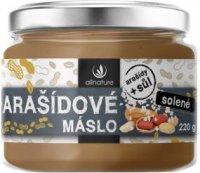 Allnature arašídové máslo solené 220g