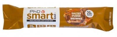 PhD Nutrition Smart Bar salted fudge brownie 64g