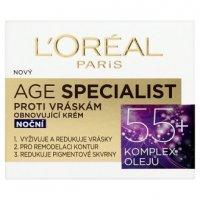 L'oréal Dex Age Specialist 55+ noční krém 50ml