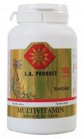 Multivitamin-mineral se ženšenem+ginkgo biloba 100 tablet - Bihophar Gelee Royale - Květový med se ženšenem 500 g