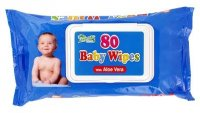 Ubrousky dětské Baby Wipes Aloe Vera 80ks