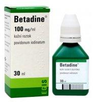 Betadine tekutina 1x30ml (H) zelený
