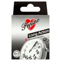 Prezervativ Pepino Long Action 3ks