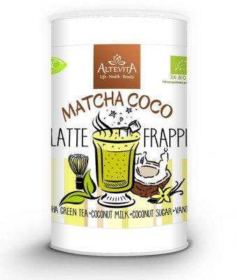ALTEVITA Latte frappe MATCHA COCO 220 g