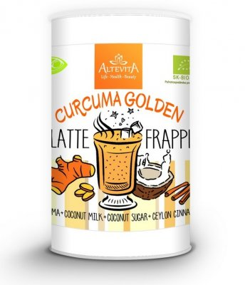 ALTEVITA Latte frappe CURCUMA GOLDEN 220 g