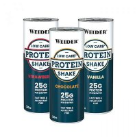 Weider Low Carb Protein Shake Vanilka 250ml