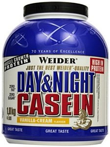 100% Casein, Weider, 1800 g, Red Berry