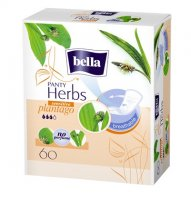 Bella Herbs Plantago Sensitive slipové vložky 60ks