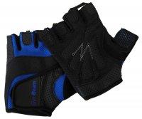 GymBeam Fitness rukavice Dexter black blue – velikost XXL