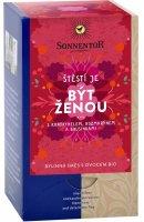 Sonnentor Bio bylinná směs s ovocem Být ženou 18 x 1.7 g