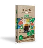 MUST Nespresso BIO Peru 10 kapslí