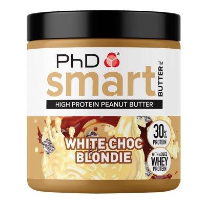 PhD Nutrition Smart Peanut Butter White Choc Blondie 250g