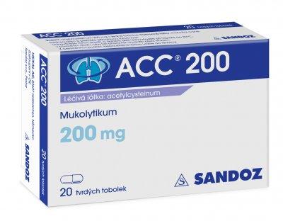 ACC 200 perorální orální tobolky tvrdá 20x200mg