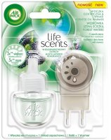 Airwick Electric komplet Life Scents Lesní potok 19ml