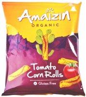 Amaizin Chipsy kukuřičné rajčatové BIO 100g