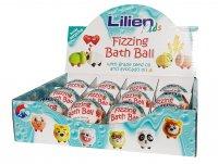 Lilien Kids šumivá koule do koupele s překvapením 140g
