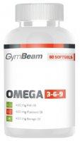 GymBeam Omega 3-6-9 unflavored - 60 kaps
