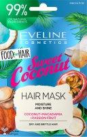 Eveline FOOD FOR HAIR – Vlasová maska Coconut 20ml