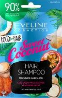 Eveline FOOD FOR HAIR – Šampon na vlasy Coconut 20ml