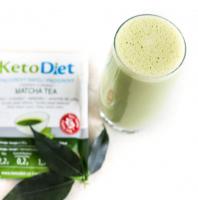 KetoDiet Proteinový nápoj Matcha Tea 7x27g
