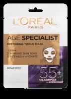 L´Oréal Paris Age Specialist 55+ obnovující textilní maska