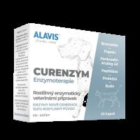 ALAVIS Curenzym Enzymoterapie a.u.v. 20 kapslí