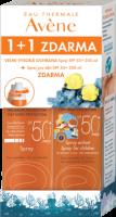 Avene Sprej SPF50+ 200ml + Sprej pro děti SPF50+ 200ml