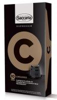 Saccaria caffé Nespresso kapsle Cremoso 10 ks