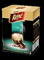 René Espresso Lungo kapsle pro Nespresso 10ks