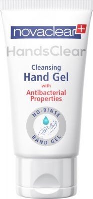 Novaclear antibakteriální gel na ruce 50 ml