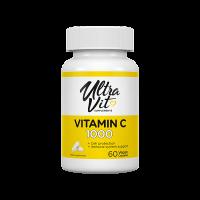 VPLab Vitamin C 1000 + sušený extrakt ze šípků, 60 veganských kapslí