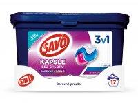 SAVO prací kapsle na barevné prádlo 45w