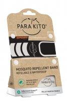 Parakito Sportovní náramek proti komárům černý 1ks + 2 náplně