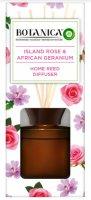 Botanica by Air Wick Vonné tyčinky - Exotická růže a africká pelargónie 80ml