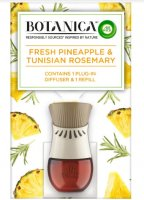 Botanica by Air Wick elektrický osvěžovač vzduchu (strojek a náplň) - Svěží ananas a tuniský rozmarýn 19ml