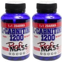 Profimass Profi L-Carnitine 1200 60+60 kapslí