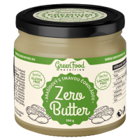 GreenFood Nutrition Zero Butter Arašídový s tmavou čokoládou 350g