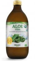 Organic way Aloe vera Bio 100% šťáva premium quality 500ml