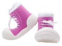 Attipas Dětské Botičky Sneakers Purple XL